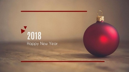 پیام تبریک مهندس حمدی به مناسبت آغاز سال نو میلادی 2018